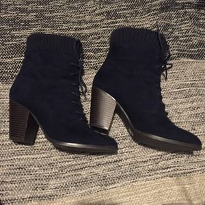 JustFab heeled bootie